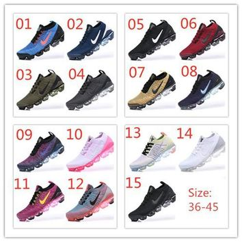 Nike Air Vapormax 2019 15 colors flying line(36-45)ready stock