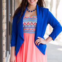 Coral Aztec Princess Dress