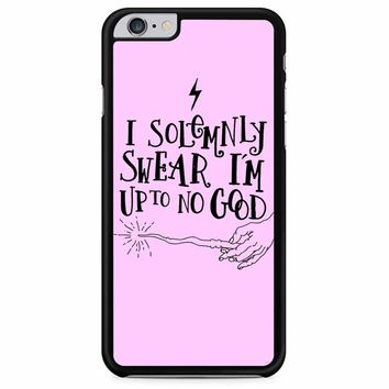 I Solemnly Swear That I Am Up To No Good iPhone 6 Plus/ 6S Plus Case