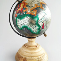 Colorful Metallic Globe
