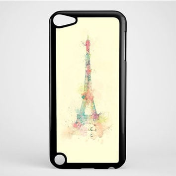 Eiffel Tower Water Color iPod Touch 5 Case