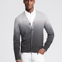 Banana Republic Mens Dip Dye Cardigan