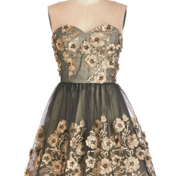 Chi Chi London Short Length Strapless Fit & Flare Debut Your Dazzle Dress