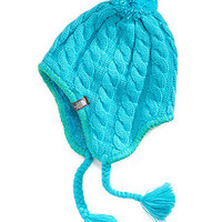 The North Face Kids Beanie, Girls Fuzzy Earflap Hat - Kids - Macy's