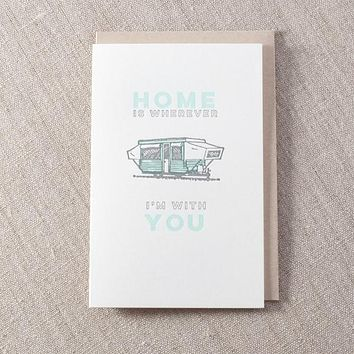 Home With You Card