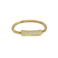 Gold Glam Pave Bar