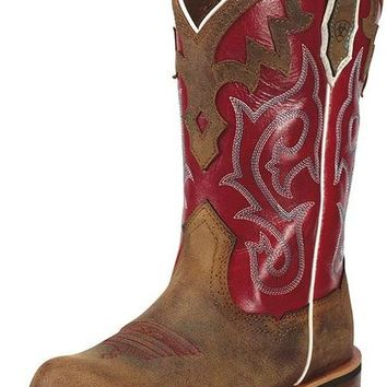 Ariat Unbridled Powder Brown Leather Boots