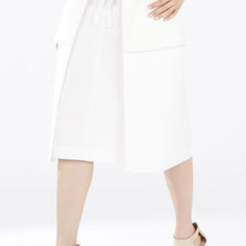 White BCBG Runway Larae Skirt