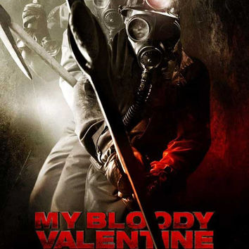My Bloody Valentine 3-D 11x17 Movie Poster (2009)