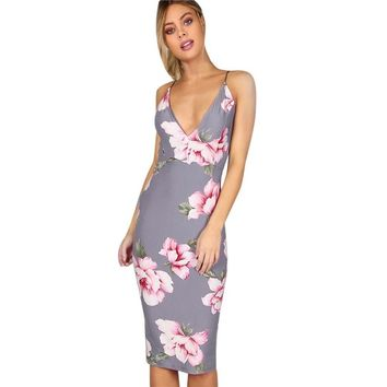 Lexie Floral Bodycon Dress