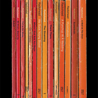 Radiohead 'Hail to the Thief' Album As Books Poster Print