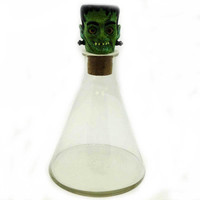 Halloween Candy Beaker Frankenstein Halloween Decor
