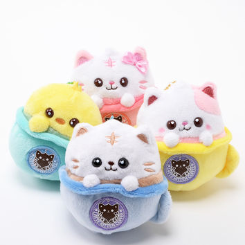 Latte Kitten Coffee Plush Mascots