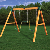 Gorilla Playsets Free Standing Swing Set