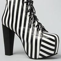 Jeffrey Campbell The Lita Shoe,5,Black & White