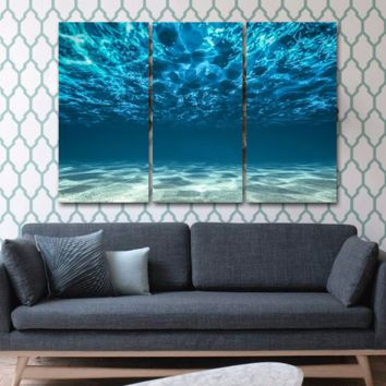 Blue Ocean Wall Art