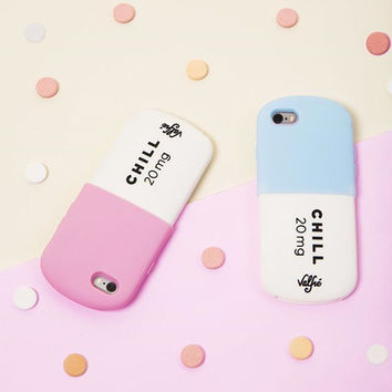 Luxury Fashion 3D Love Potion Chill Pills Bottle Silicone Cover Case For iPhone 5/5s/6/6s/ 6 plus/ 6s plus/7/ 7 plus Phone Case Shell [11208636047]