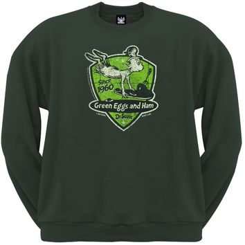 Dr. Seuss - Sams Badge Crew Neck Sweatshirt