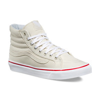 Leather Canvas SK8-Hi Slim | Shop Shoes At Vans