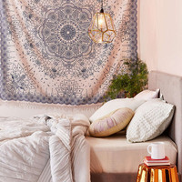 Emilia Medallion Fringe Tapestry - Urban Outfitters