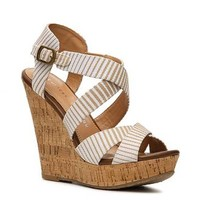 Chinese Laundry Marianne Striped Wedge Sandal
