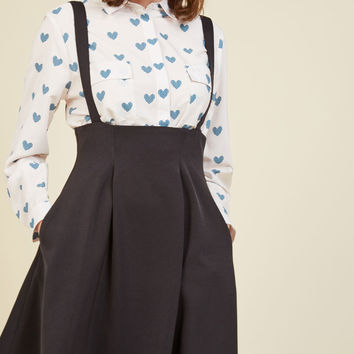 Overall Winner Jumper in Black | Mod Retro Vintage Skirts | ModCloth.com