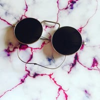 Early 1900s sunglasses | Steampunk | Real glass