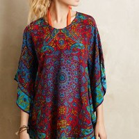 Narissa Silk Caftan by Tolani Blue