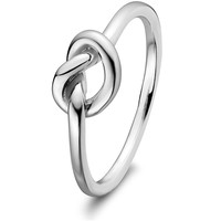 Sterling Silver Love Knot PROMISE RINGS ULS-15255