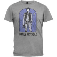 Star Wars - Only Fly Solo Soft T-Shirt | OldGlory.com
