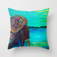 El Capitan Throw Pillow by Sophia Buddenhagen