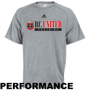 adidas D.C. United Training Performance T-Shirt - Ash