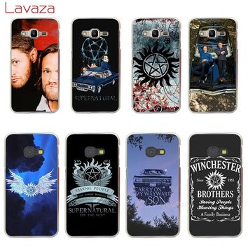 Lavaza Supernatural SPN Hard Phone Case for Samsung Galaxy A3 A5 2015 2016 2017 Note 8 9 Grand Prime A6 A8 Plus 2018 Cases