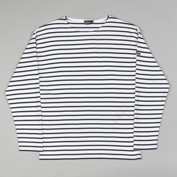 Armor-Lux 1526 Long Sleeve Loctudy Top White/Navy