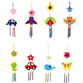 Puzzles Toys For Kids Children Campanula DIY Wind Chimes Aeolian Bells Educational Puzzle Toys Craft Kits Best Toy Gift For Kids