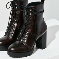 Kennedy Lace-Up Heeled Ankle Boot | Urban Outfitters