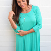 Marrabell Swing Dress Jade