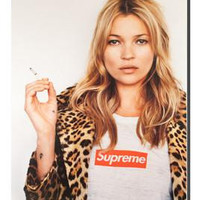 Supreme x Kate Moss Exclusive box logo Poster - A Very Based You