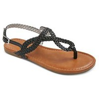 Girls' Jesma Braided Thong Sandals - Assorted Colors