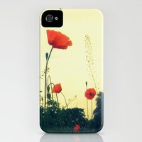 Towering Poppies iPhone Case by Deb Scudder | Society6