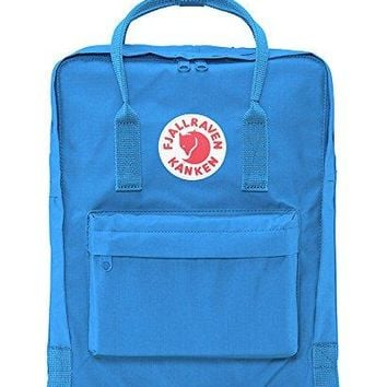 Fjallraven Kanken Durable Backpack Unisex Lovers' School Travel Bag( UN Blue)