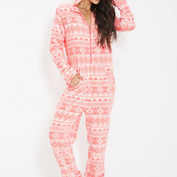Winter Fashion Women Pajama Sets White Cat Print Flannel Thick Pajamas Warm Pajama Sets Hooded Pajamas Sleepwear S M L