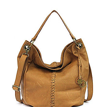 Lucky Brand Carmel Bucket Hobo Bag | Dillards.com