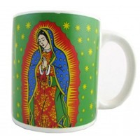 VIRGIN MARY PRINT MUG.