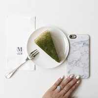 White Marble iPhone 6 6s Case