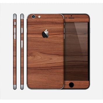 The Smooth-Grained Wooden Plank Skin for the Apple iPhone 6 Plus