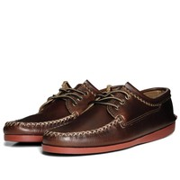 Quoddy Brick Sole Blucher