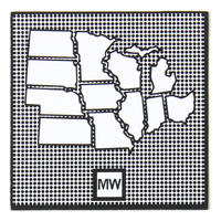 Dots Midwest Magnet