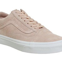Vans Old Skool Mens Sneakers Pink