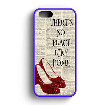 Style Wizard Of Oz There Is No Place Like Home iPhone 5 Case iPhone 5s Case iPhone 5c Case
